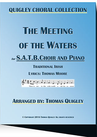 The Meeting of the Waters (SATB)