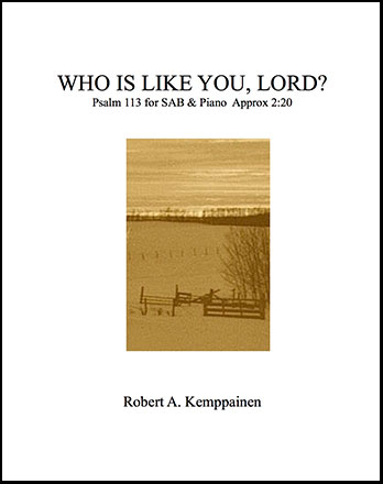 Who Is Like You, Lord?
