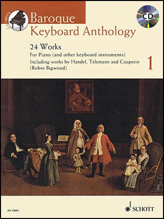 Baroque Keyboard Anthology #1