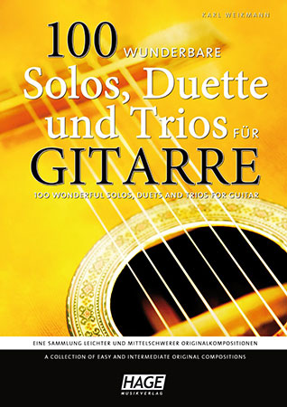 100 Wonderful Solos, Duets and Trios for Guitar