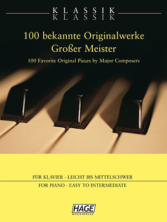 Klassik Klassik 100 Favorite Original Pieces by Major Composers