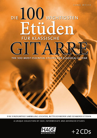 The 100 Most Essential Etudes for Classical Guitar