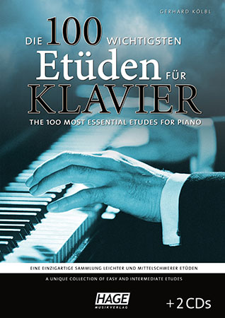 The 100 Most Essential Etudes for Piano