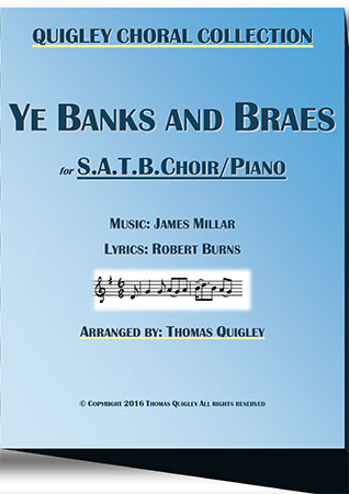 Ye Banks and Braes (S.A.T.B.)