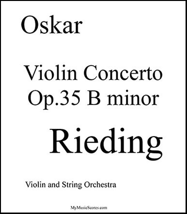 Violin Concerto in B minor Op.35
