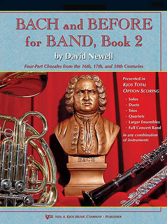 Bach and Before for Band, Book 2