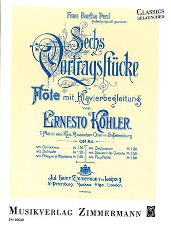 Six Recital Pieces, Op. 84
