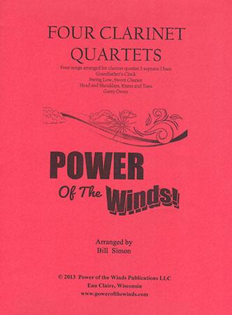 Four Clarinet Quartets (3 soprano 1 bass)