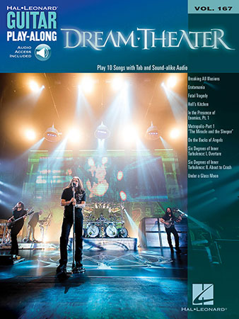 Guitar Play-Along, Vol. 167: Dream Theater