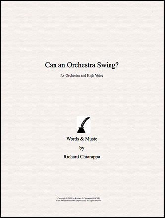 Can an Orchestra Swing?