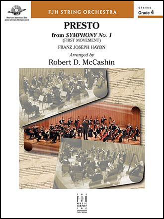 Presto from Symphony No.1