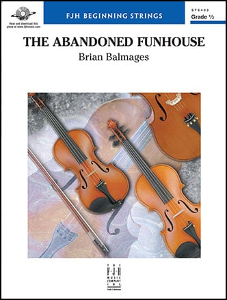The Abandoned Funhouse choral sheet music cover