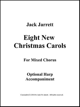 Optional Harp accompaniment to Eight New Christmas Carols