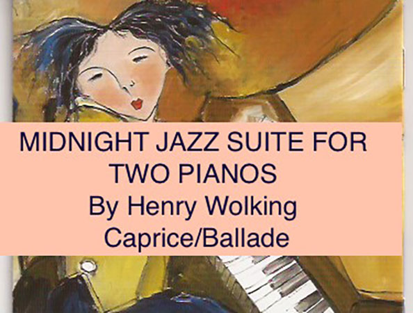 Midnight Jazz Suite For Two Pianos-Caprice/Ballade