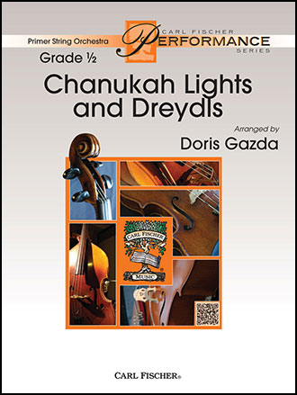 Chanukah Lights and Dreydls