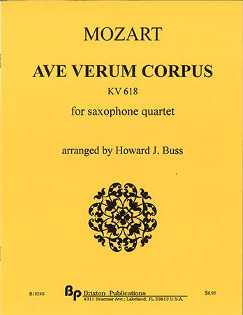 Ave Verum Corpus, KV 618