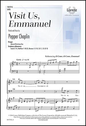 Visit Us, Emmanuel