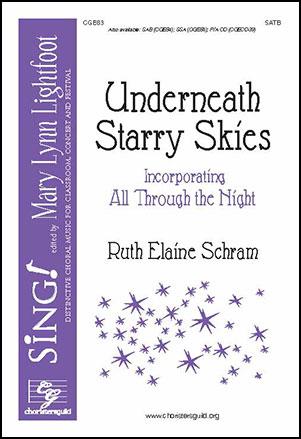 Underneath Starry Skies Satb By Ruth Elai Jw Pepper Sheet Music