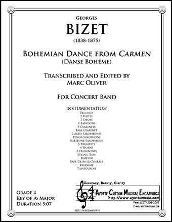 Bohemian Dance (Danse Boheme)