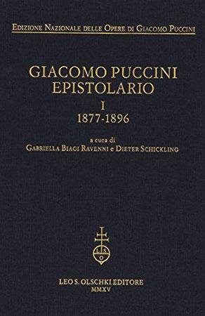 Giacomo Puccini Espitolario, Vol. 1