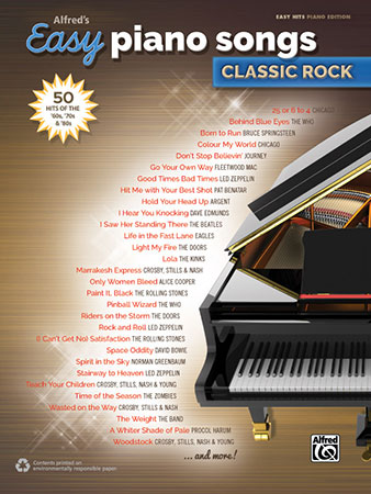 Easy Piano Songs Classic Rock