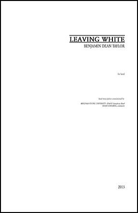 Leaving White