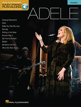 Easy Piano Play-Along, Vol  4: Adele (Book with O | J W  Pepper