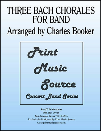 Three Bach Chorales For Band