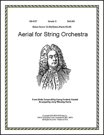 Aerial for String Orchestra
