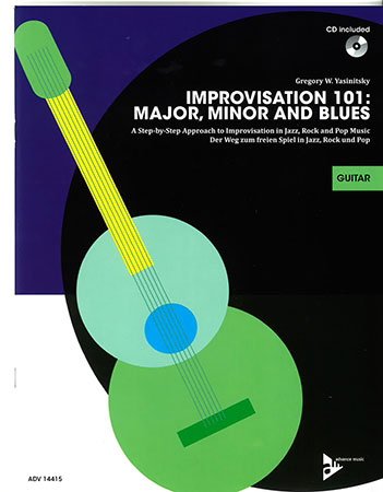 Improvisation 101: Major, Minor and Blues Cover