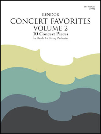 Kendor Concert Favorites - Volume 2
