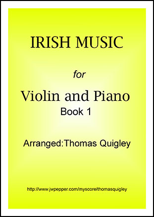 Irish Music (Violin and Piano Book 1) (Violin&nbs | J W