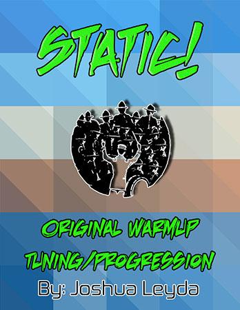 Static - Tuning/Chord Progression
