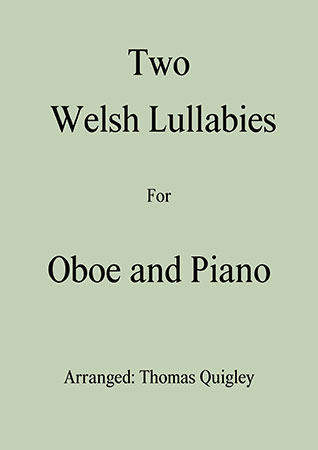 Two Welsh Lullabies (Oboe and Piano)