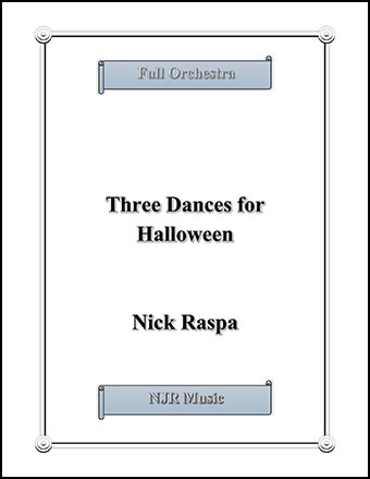 Three Dances for Halloween Thumbnail