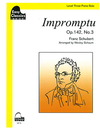Impromptu Op. 142 No. 3