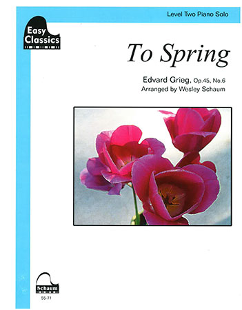 To Spring Op. 45 No. 6