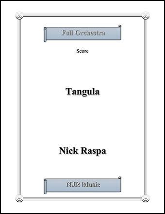 Tangula (from Three Dances for Halloween)