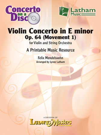 Concerto in E minor, Op. 64 for Violin and String Orchestra