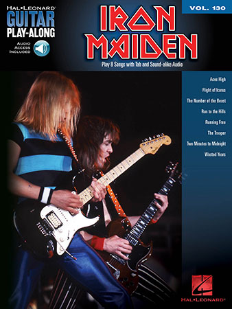 Guitar Play-Along, Vol. 130 Iron Maiden