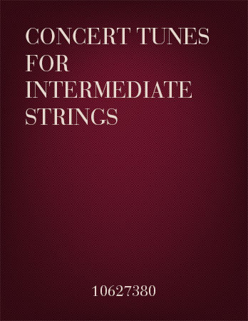 Concert Tunes for Intermediate Strings Cover