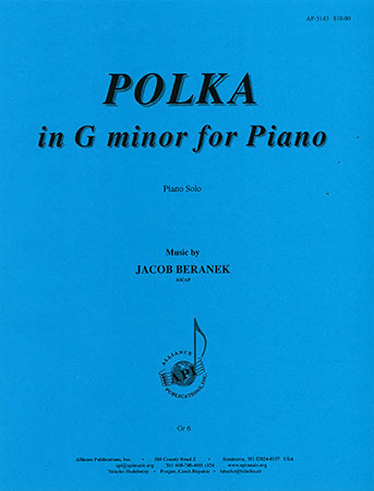 Polka in G minor for Piano