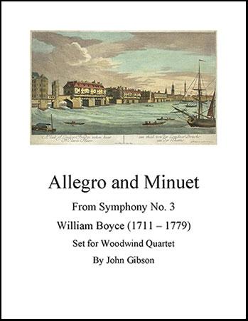 Allegro and Minuet for Woodwind Quartet