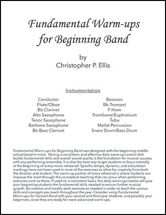 Fundamental Warm-ups for Beginning Band