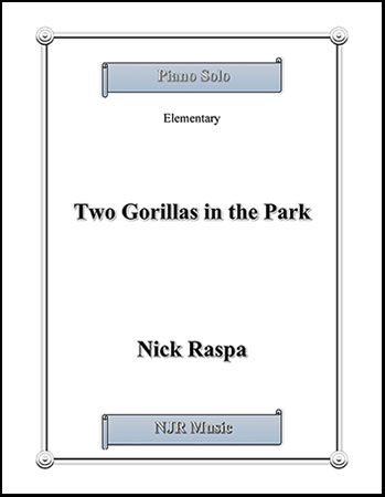 Two Gorillas in the Park