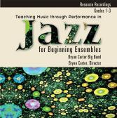 Teaching Music Through Performance in Jazz for Beginning Ensembles Cover