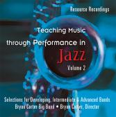 Teaching Music Through Performance in Jazz, Vol. 2 Cover