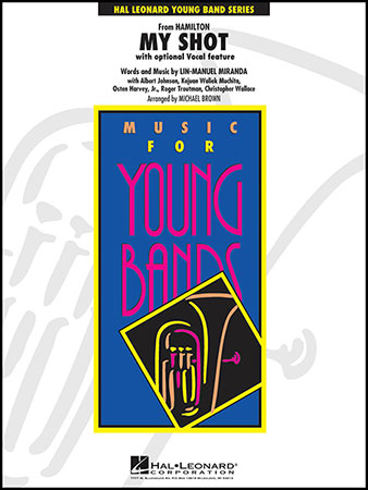 My Shot band sheet music cover