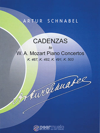 Cadenzas to W.A. Mozart Piano Concertos