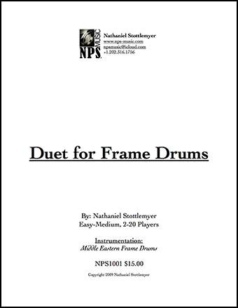 Duet for Frame Drums